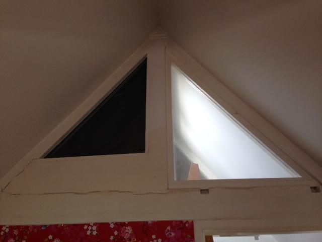 Super Gordijn driehoekig raam ZN25