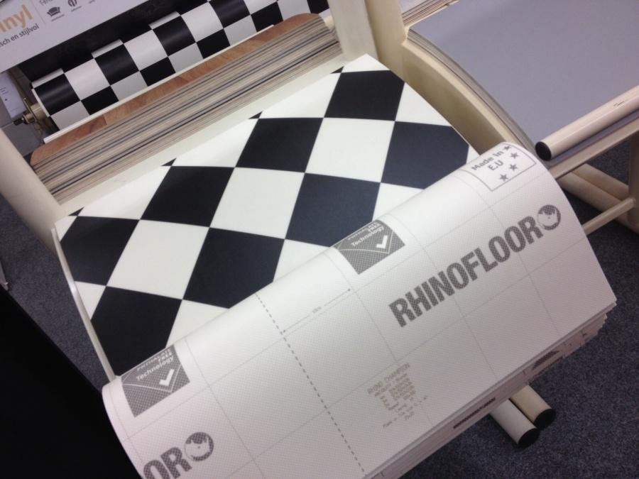 Vloer Vinyl Kopen : Wit vinyl zeil: vinyl vloer tegelmotief beautiful natuursteen en