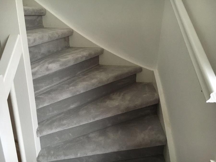 Gangtrap stofferen met tapijt trap stofferen kopen in klimmen