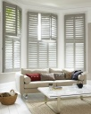 Taupe shutters