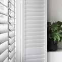 Shutters wit 4 raampartijen